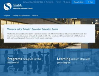 seec.schulich.yorku.ca screenshot
