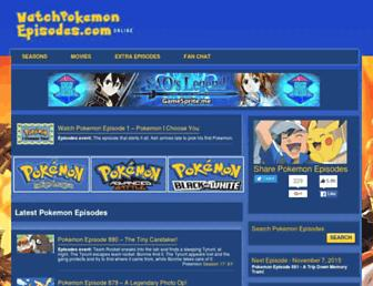Thumbshot of Watchpokemonepisodes.com
