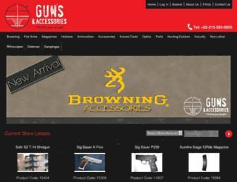 guns-accessories.com screenshot