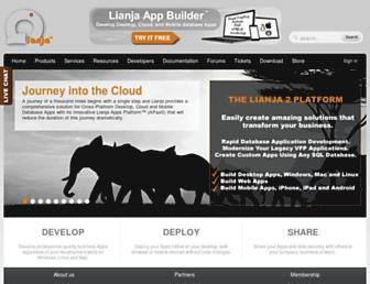 lianja.com screenshot