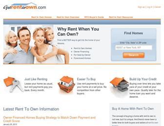 Thumbshot of Getrenttoown.com