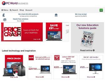 pcworldbusiness.co.uk screenshot