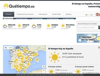 Thumbshot of Quetiempo.es
