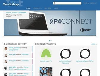 swarm.workshop.perforce.com screenshot