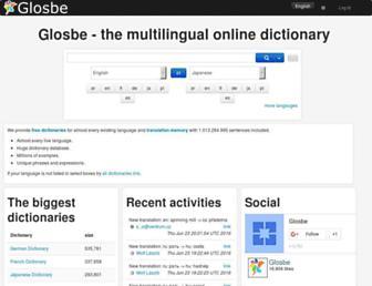 glosbe.com screenshot
