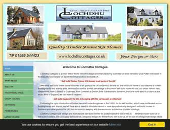 lochdhucottages.co.uk screenshot