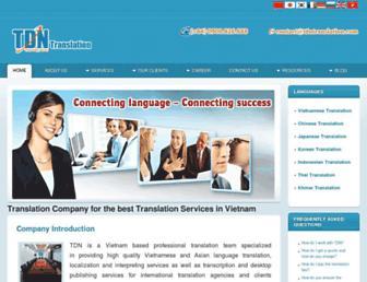 Thumbshot of Tdntranslation.com
