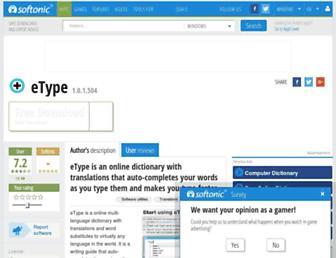 etypewecompleteyou.en.softonic.com screenshot