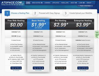 Thumbshot of Atspace.com