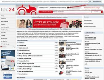de.tec24.com screenshot