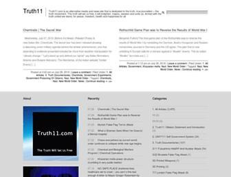 truth11.com screenshot