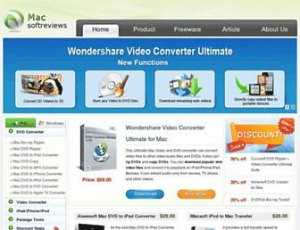 macsoftreviews.com screenshot
