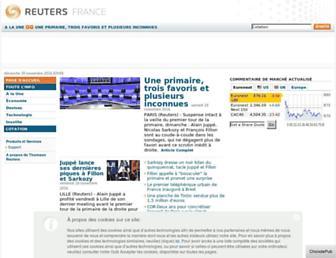 fr.reuters.com screenshot