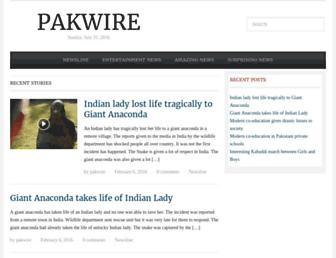 Thumbshot of Pakwire.com