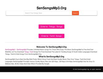 sensongsmp3.org screenshot