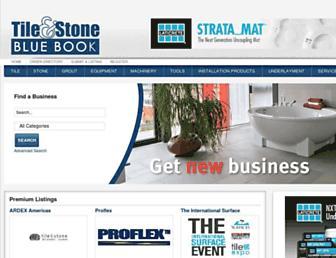 tileandstonebluebook.com screenshot