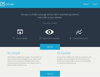 Thumbshot of Hitleap.com