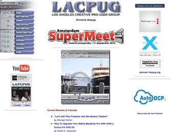 lafcpug.org screenshot