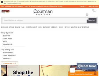 Thumbshot of Colemanfurniture.com
