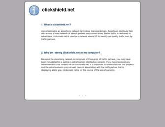 Fullscreen thumbnail of clickshield.net