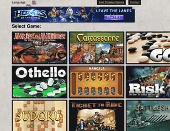 ultraboardgames.com screenshot
