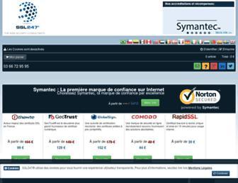 ssl247.fr screenshot