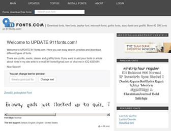 Thumbshot of 911fonts.com