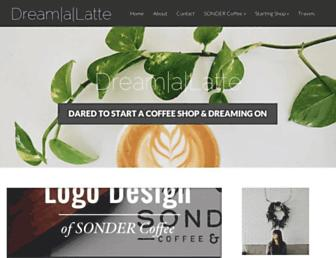 dreamalatte.com screenshot