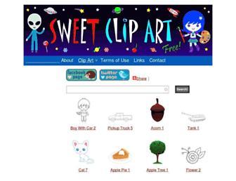 Thumbshot of Sweetclipart.com