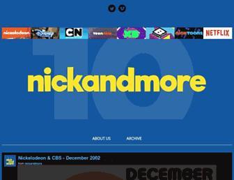 Thumbshot of Nickandmore.com