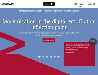 Thumbshot of Accenture.com