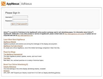 Thumbshot of Adnxs.com