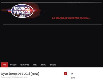 musicatipica.net screenshot