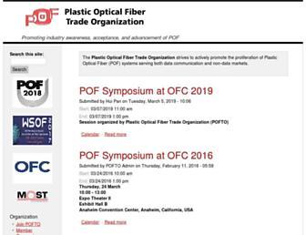 Main page screenshot of pofto.org