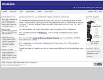 jimpoz.com screenshot