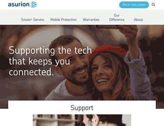 asurion.com screenshot