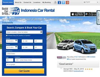 indonesia.rentalcargroup.com screenshot