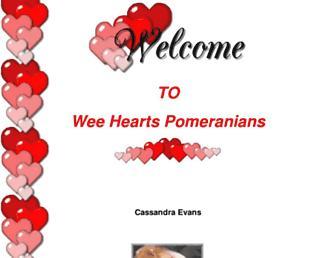 weeheartpoms.com screenshot