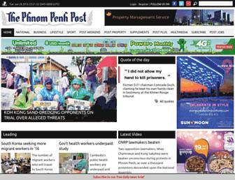 Thumbshot of Phnompenhpost.com