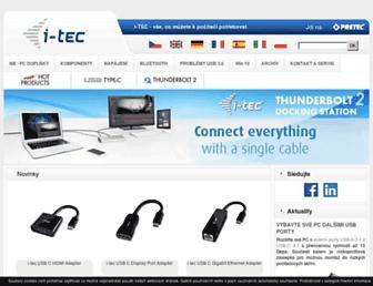 i-tec.cz screenshot