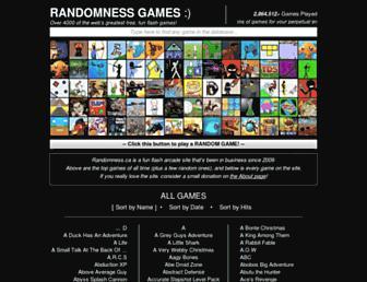 randomness.ca screenshot