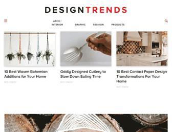 designtrends.com screenshot