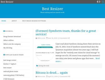 bestresizer.com screenshot