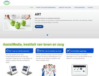 assistmedia.nl screenshot