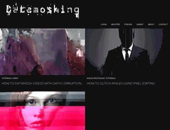 datamoshing.com screenshot