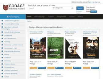 godage.com screenshot