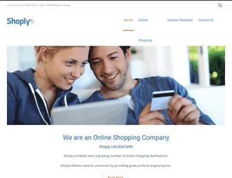 Thumbshot of Shoply.com
