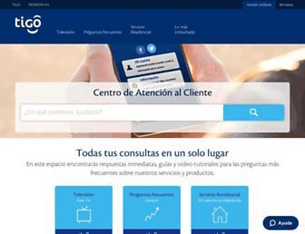 ayuda.tigo.co.cr screenshot