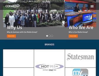 Thumbshot of Coxmediagroup.com