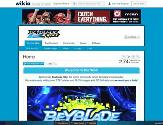 beyblade.wikia.com screenshot